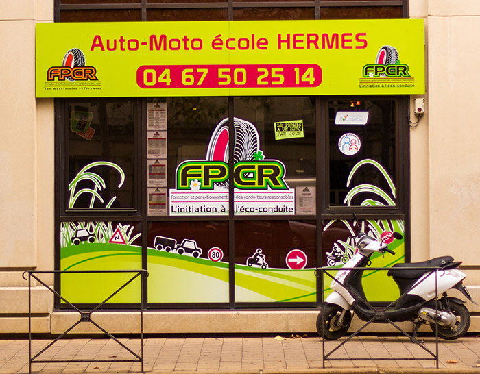 fpcr herm s auto moto ecole fpcr montpellier. Black Bedroom Furniture Sets. Home Design Ideas