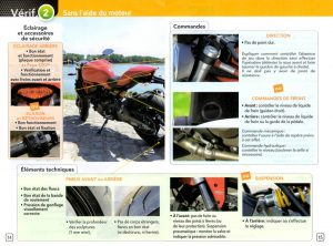 verification avant examen permis moto